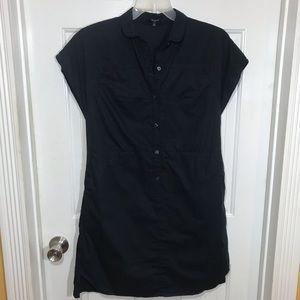 Madewell | Navy Blue Cotton Dress